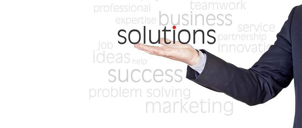 Think with us and choose from our solutions!